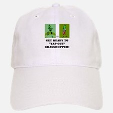"GET READY TO ""TAP OUT"" GRASSH Baseball Baseball Cap"