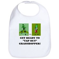 "GET READY TO ""TAP OUT"" GRASSH Bib"