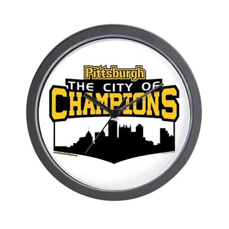The City of Champions Wall Clock