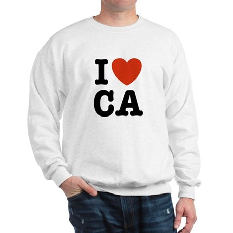 I Heart CA Sweatshirt