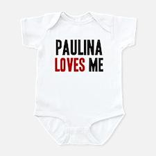 Paulina loves me Infant Bodysuit