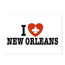 I Love New Orleans Postcards (Package of 8)