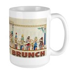 First Brunch Large Mug