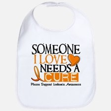 Needs A Cure 1 LEUKEMIA Bib
