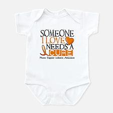Needs A Cure 1 LEUKEMIA Infant Bodysuit