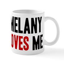 Melany loves me Mug