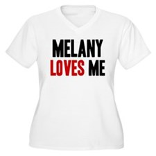 Melany loves me T-Shirt