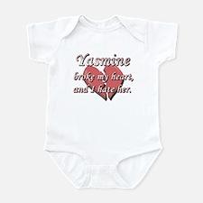 Yasmine broke my heart and I hate her Infant Bodys