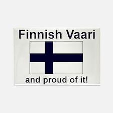 Finnish Vaari (Grandpa) Rectangle Magnet