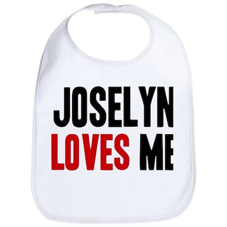 Joselyn loves me Bib