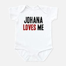 Johana loves me Infant Bodysuit