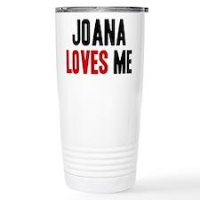 Joana loves me Travel Mug