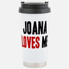 Joana loves me Travel Mug