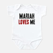 Mariah loves me Infant Bodysuit