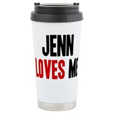 Jenn loves me Travel Mug