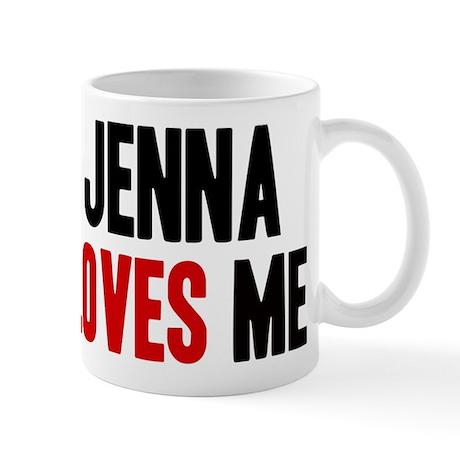 Jenna loves me Mug