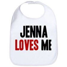 Jenna loves me Bib