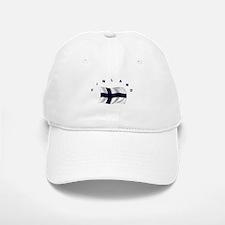 Flag of Finland Baseball Baseball Cap