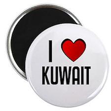 "I LOVE KUWAIT 2.25"" Magnet (100 pack)"