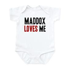 Maddox loves me Infant Bodysuit
