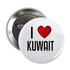 "I LOVE KUWAIT 2.25"" Button (10 pack)"
