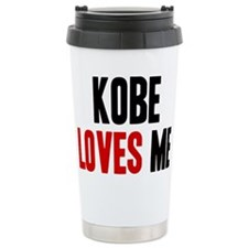 Kobe loves me Travel Mug
