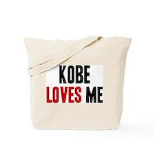 Kobe loves me Tote Bag