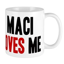 Maci loves me Mug