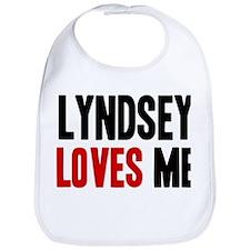 Lyndsey loves me Bib