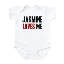 Jasmine loves me Infant Bodysuit