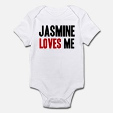 Jasmine loves me Infant Bodysuit