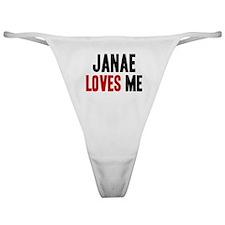 Janae loves me Classic Thong