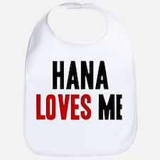 Hana loves me Bib