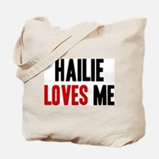 Hailie loves me Tote Bag