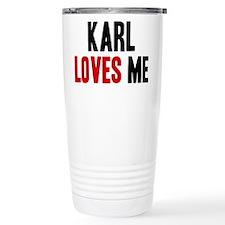 Karl loves me Travel Mug