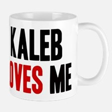 Kaleb loves me Mug