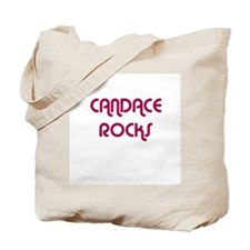 CANDACE ROCKS Tote Bag