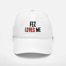 Fez loves me Baseball Baseball Cap