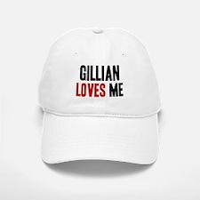 Gillian loves me Baseball Baseball Cap
