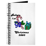 BABY'S FIRST CHRISTMAS 2005 Journal