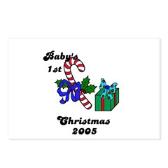BABY'S FIRST CHRISTMAS 2005 Postcards (Package o