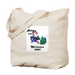 BABY'S FIRST CHRISTMAS 2005 Tote Bag