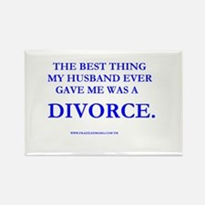 Divorce Rectangle Magnet