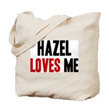 Hazel loves me Tote Bag