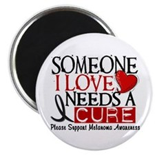 Needs A Cure MELANOMA Magnet