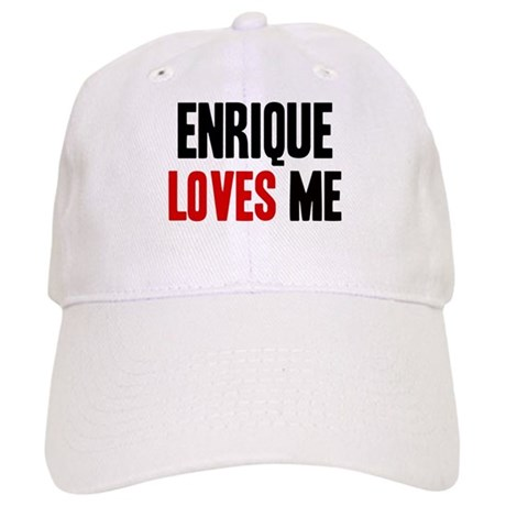 Enrique loves me Cap