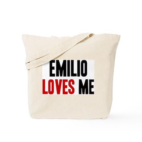 Emilio loves me Tote Bag