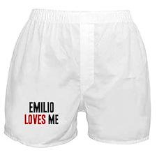 Emilio loves me Boxer Shorts