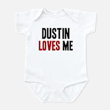 Dustin loves me Infant Bodysuit