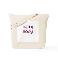 CAITLIN ROCKS Tote Bag